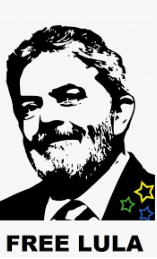 Why are you so afraid of free Lula?                                Por que têm tanto medo de Lulalivre?